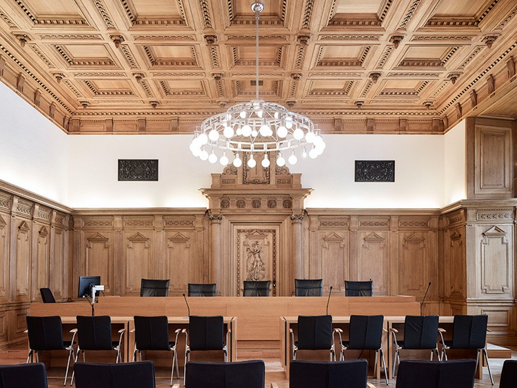 Historical courtrooms